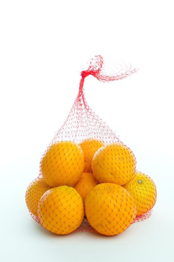 Bag of Oranges royalty free stock image