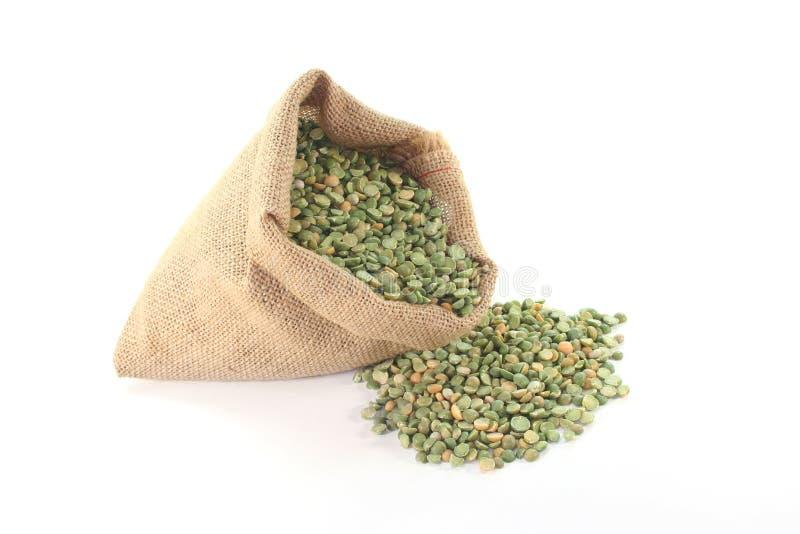 Download Bag Peas stock photo. Image of trade, sack, green, food - 20006034