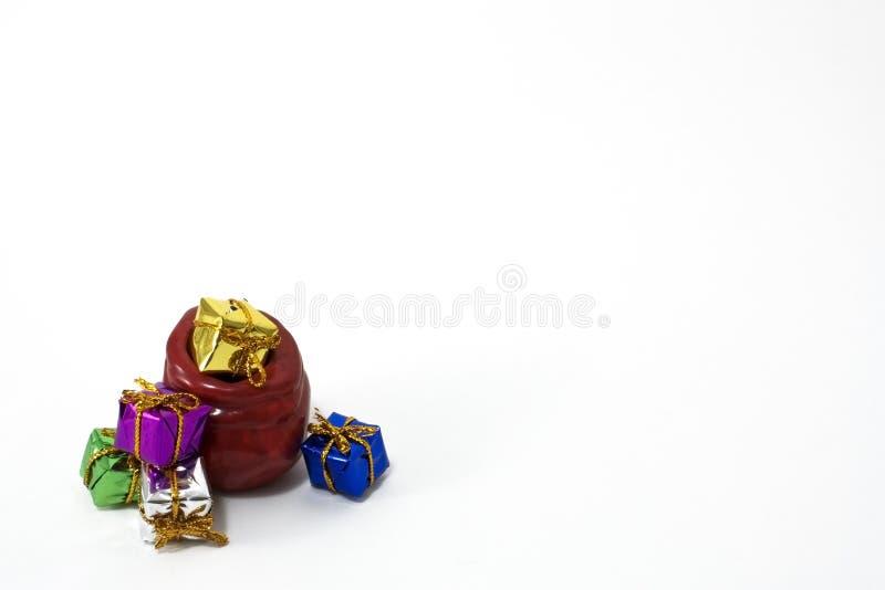 Download Bag presents stock photo. Image of glasses, illustration - 12095102