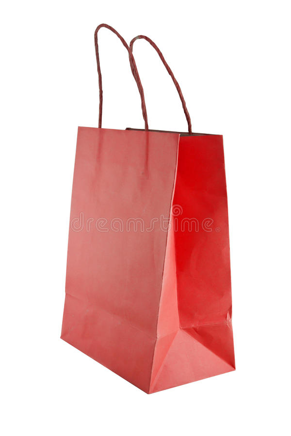 Download Bag for shopping isolated stock image. Image of single - 39506723