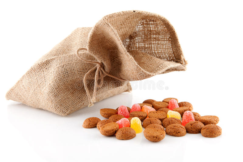 Download Bag With Typical Dutch Sweets: Pepernoten Stock Photo - Image: 17157380