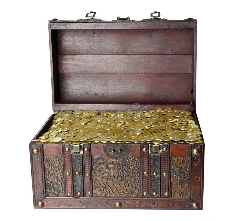 bagażnik drewniany obrazy stock