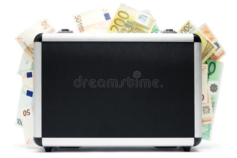 bagażowego pieniądze zdjęcia stock