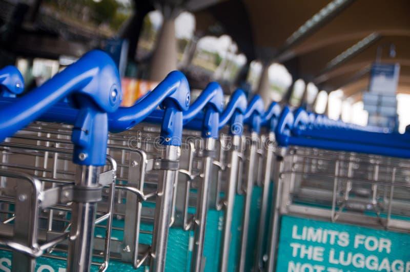 Bagażu tramwaj obrazy royalty free