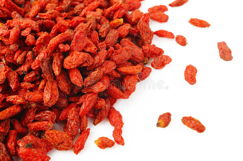 Baga de Goji fotos de stock royalty free