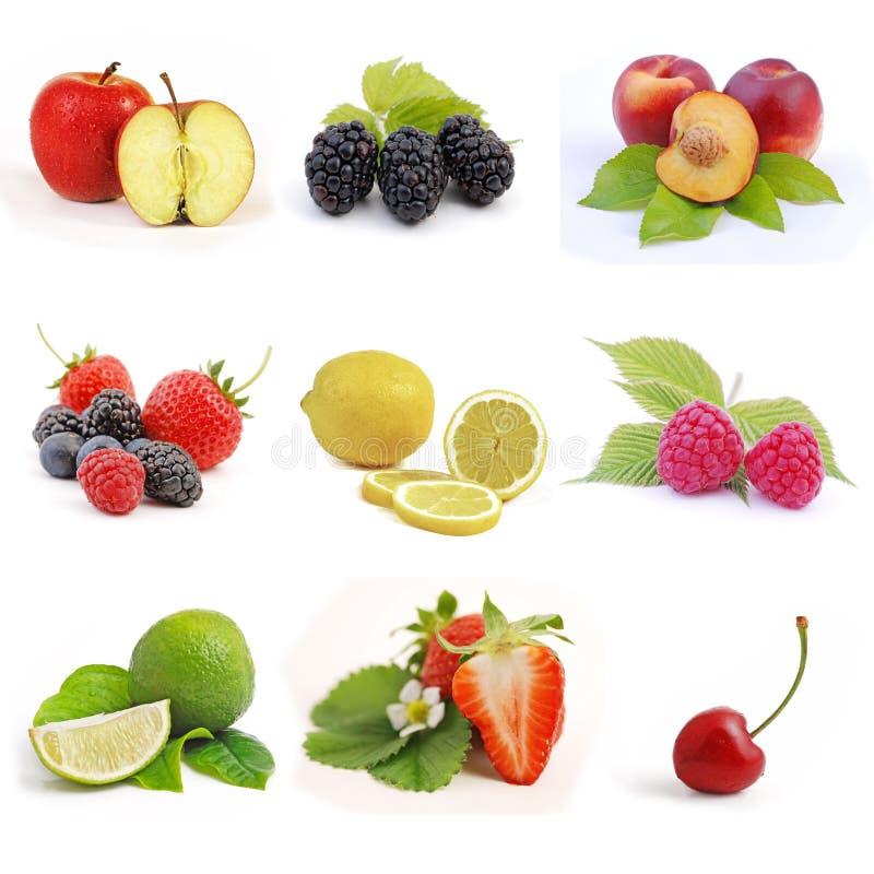 Baga e fruta fotos de stock