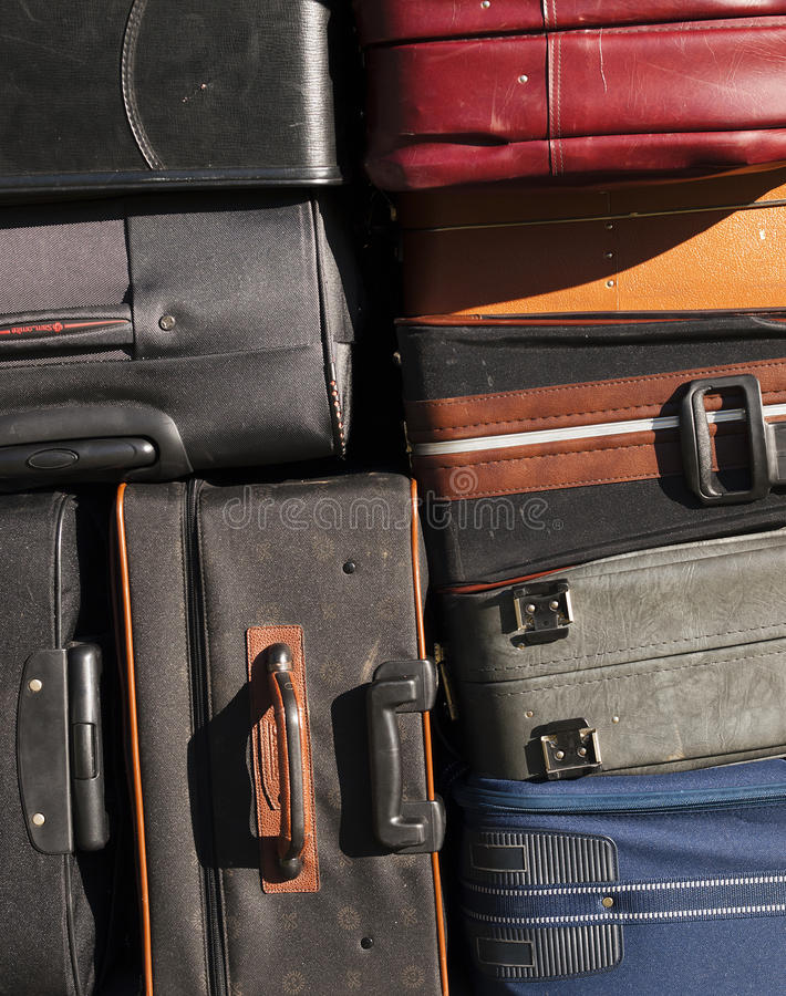Bagage stock foto