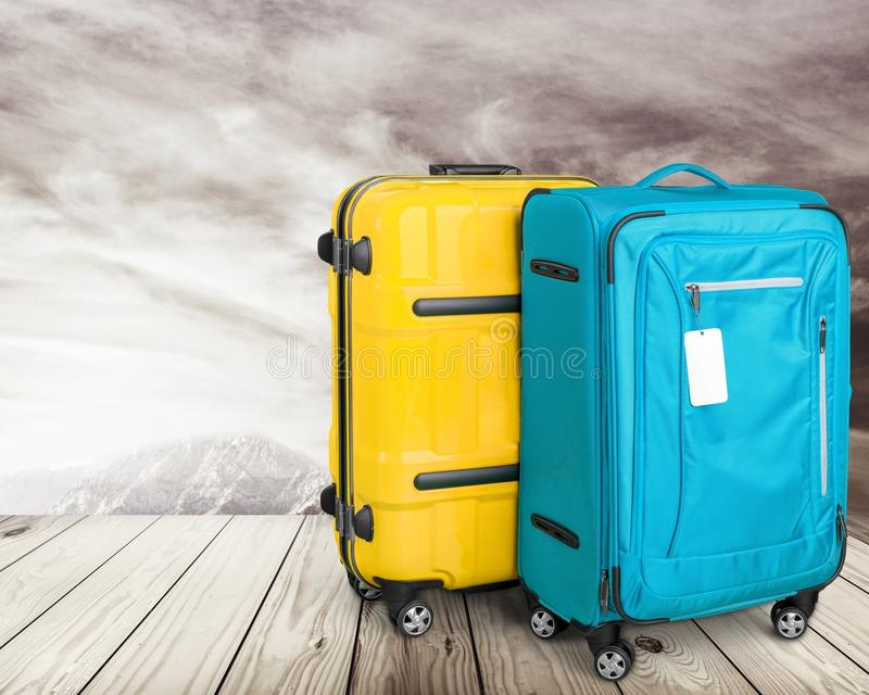 bagage royaltyfri bild