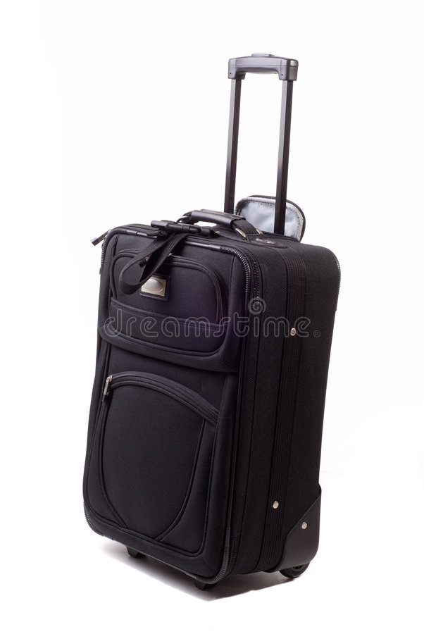 Bagage de roulement photographie stock libre de droits