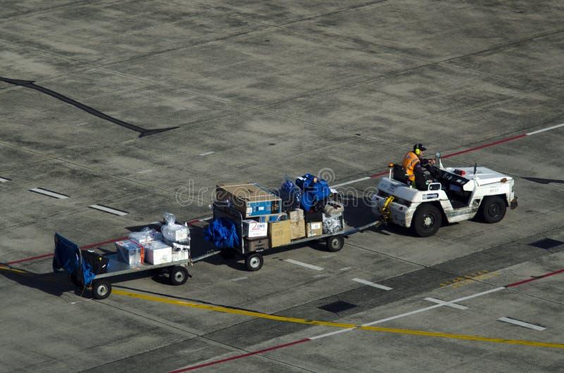 Bagage de transport aérien image libre de droits