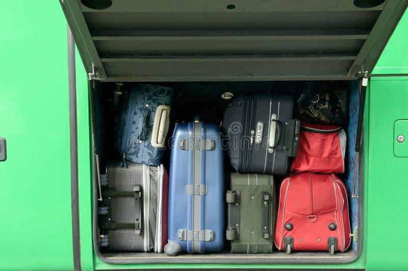 bagagepassagerare royaltyfri bild