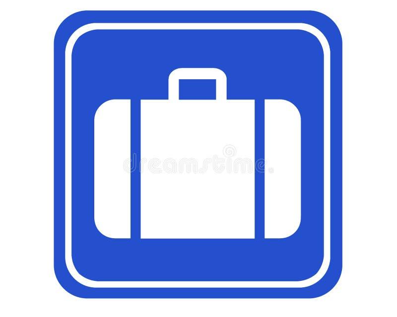Bagages illustration de vecteur