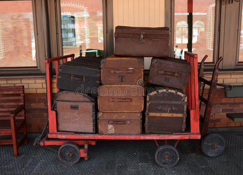 bagaglio fotografia stock libera da diritti