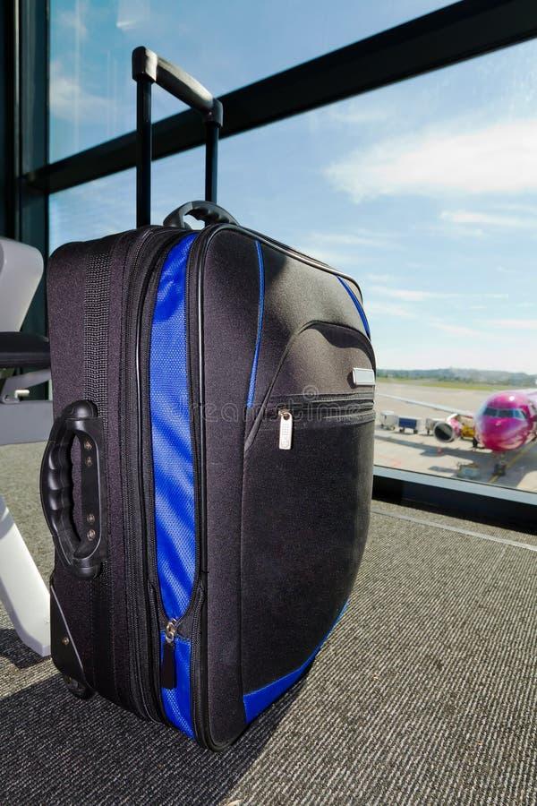 Bagaglio Perso Sull Aeroporto Fotografia Stock Libera da Diritti