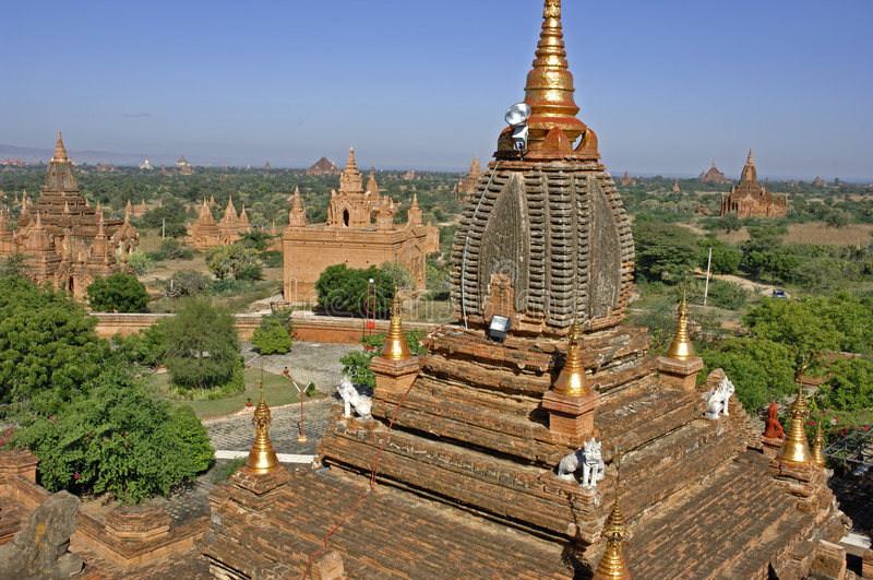 bagan缅甸 免版税库存图片