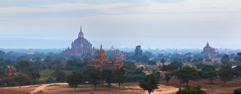 Bagan考古学区域,缅甸 图库摄影