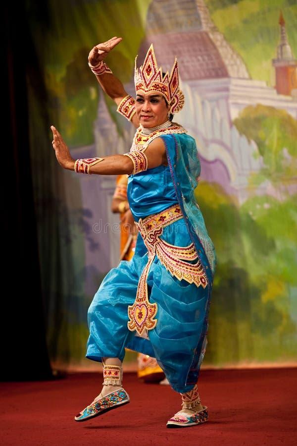 Bagan舞蹈,缅甸 库存图片