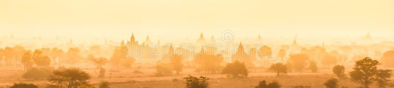 Bagan,缅甸,缅甸,亚洲Tamples  图库摄影