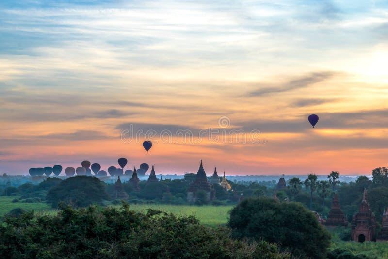 bagan ανατολή της Myanmar στοκ εικόνα με δικαίωμα ελεύθερης χρήσης