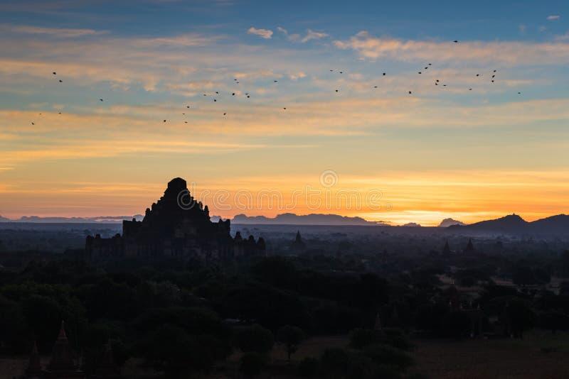 bagan ανατολή Myanmar στοκ εικόνα με δικαίωμα ελεύθερης χρήσης