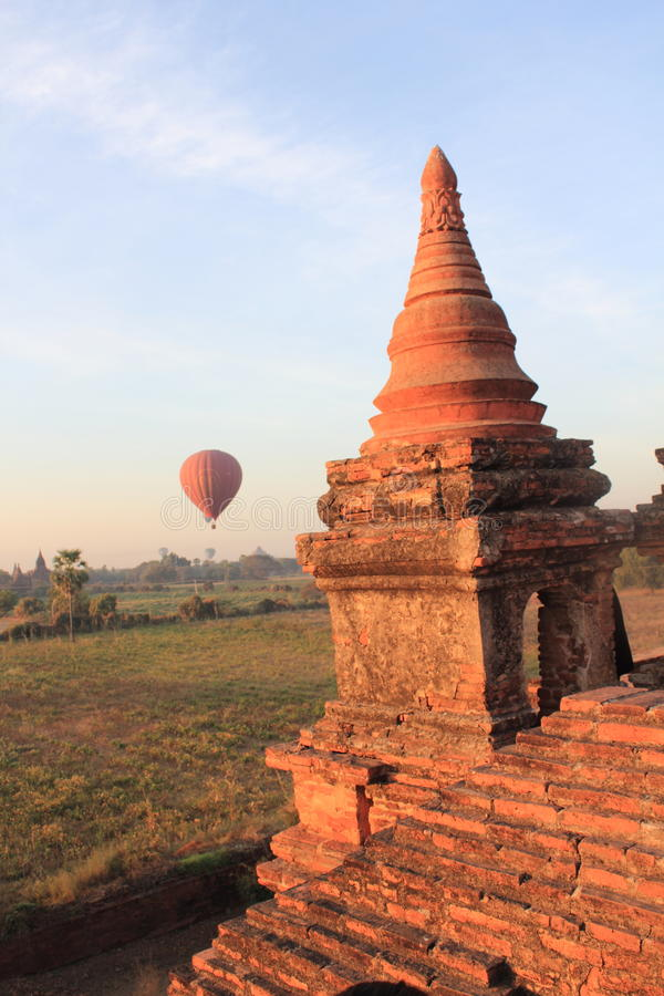 bagan ναοί ανατολής της Myanmar στοκ εικόνα με δικαίωμα ελεύθερης χρήσης