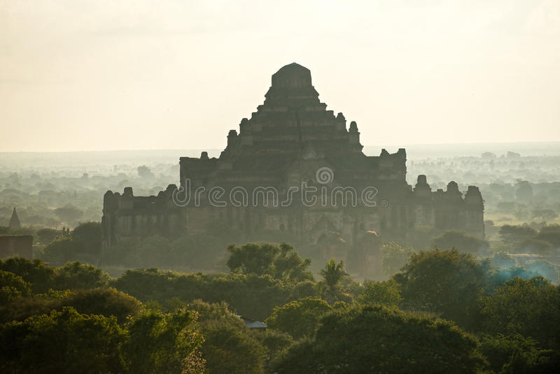 bagan ναός της Myanmar dhammayangyi στοκ εικόνες