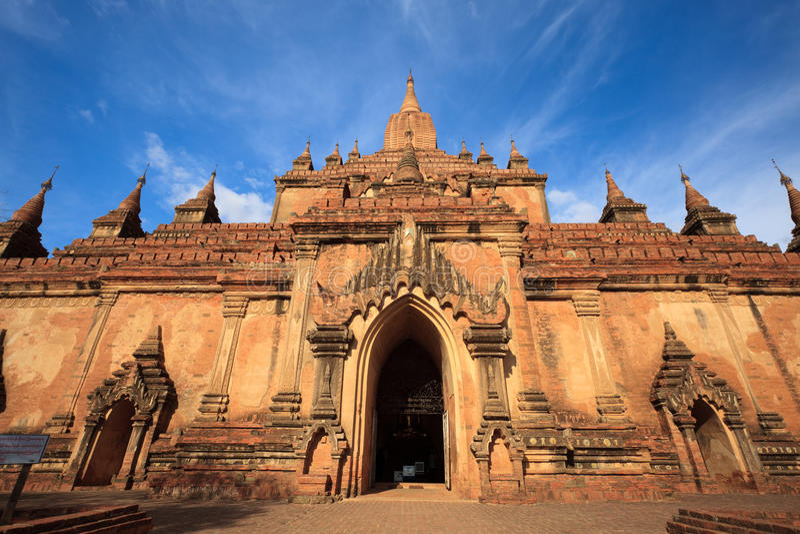 bagan ναός της Myanmar htilominlo στοκ φωτογραφία με δικαίωμα ελεύθερης χρήσης