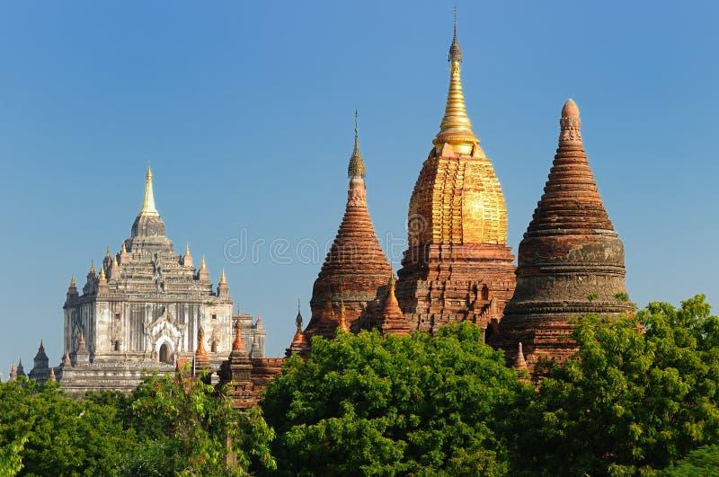 bagan ναός pahto της Βιρμανίας Myanmar thatbyinny στοκ φωτογραφία με δικαίωμα ελεύθερης χρήσης