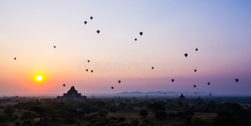 bagan восход солнца стоковые фото