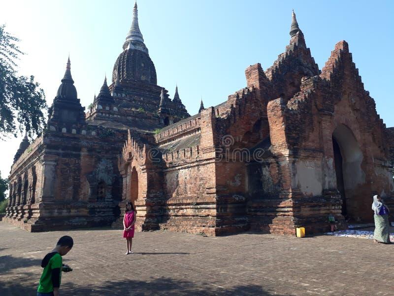 Bagan, Мьянма стоковые изображения rf