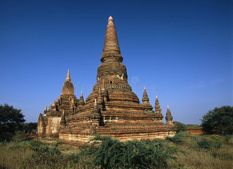 Bagan #1 Royalty Free Stock Photo