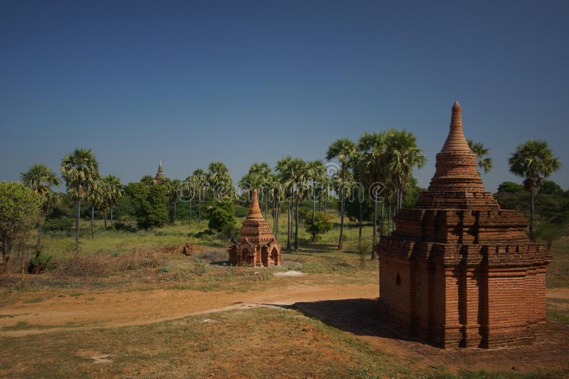 Bagan antique, Birmanie, Asie photographie stock