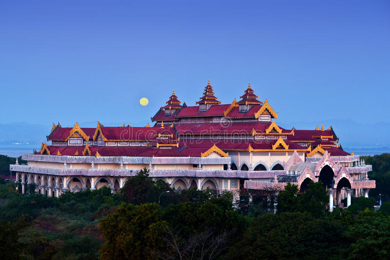 Bagan archäologisches Museum, Myanmar lizenzfreie stockbilder