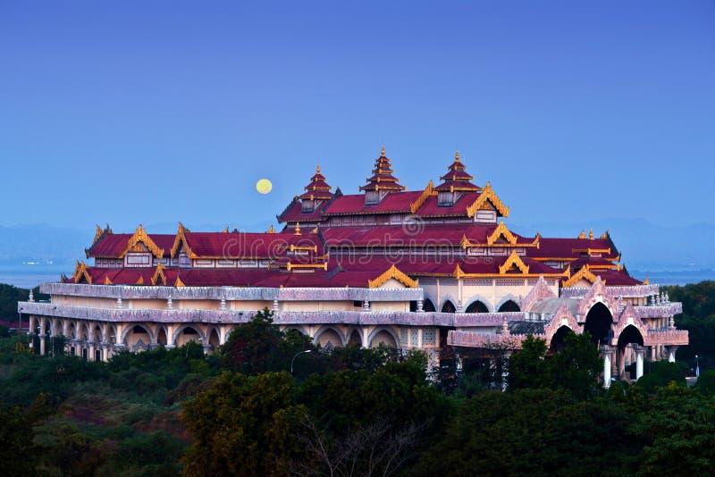 Bagan archaeological museum, Myanmar royaltyfria bilder