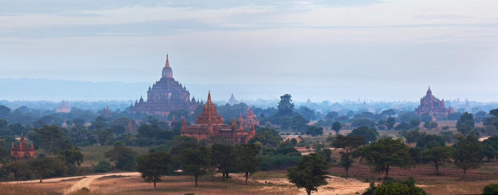 Bagan Archaeological Zone, Myanmar photographie stock