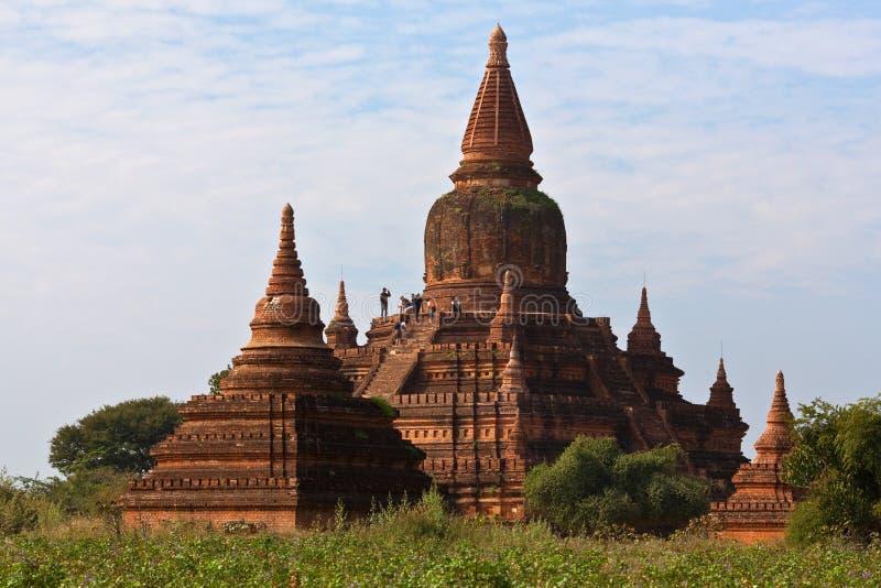 Bagan Archeologiczna strefa, Myanmar obrazy stock