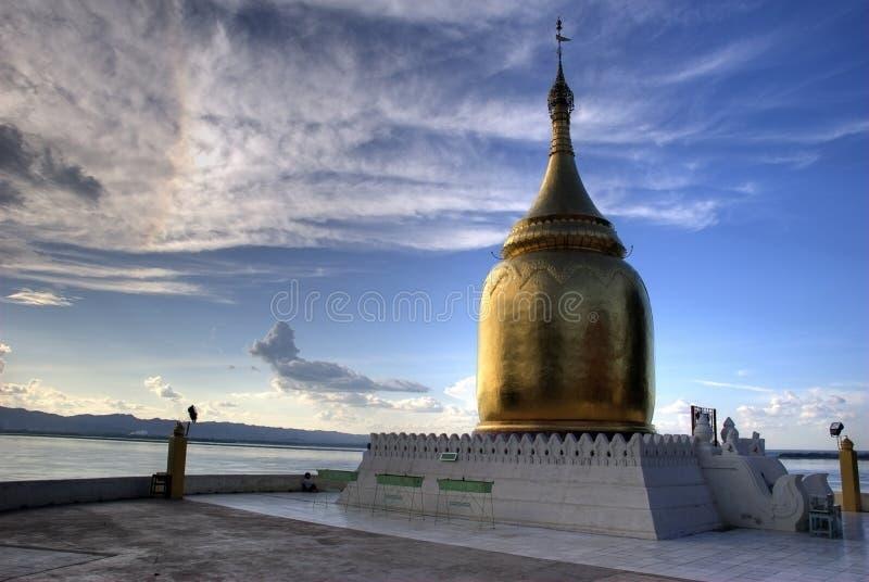 bagan bopaya缅甸 免版税图库摄影