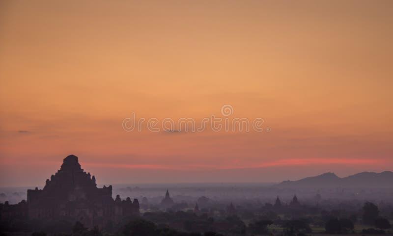 Bagan Burma lizenzfreie stockfotos