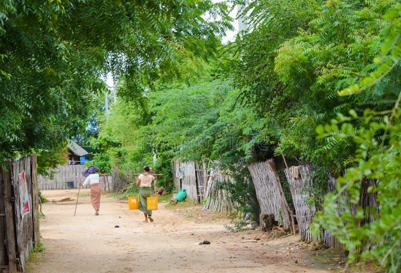 Bagan countryside, Myanmar royalty free stock photography