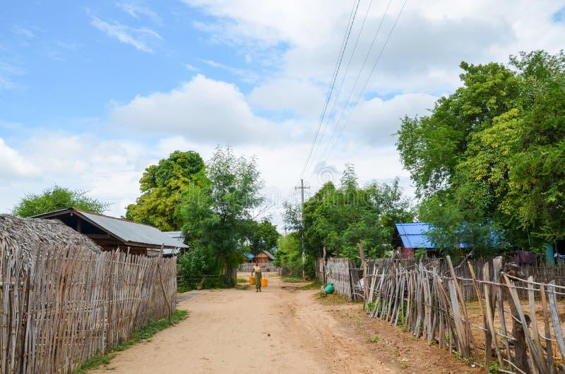 Bagan countryside, Myanmar stock image
