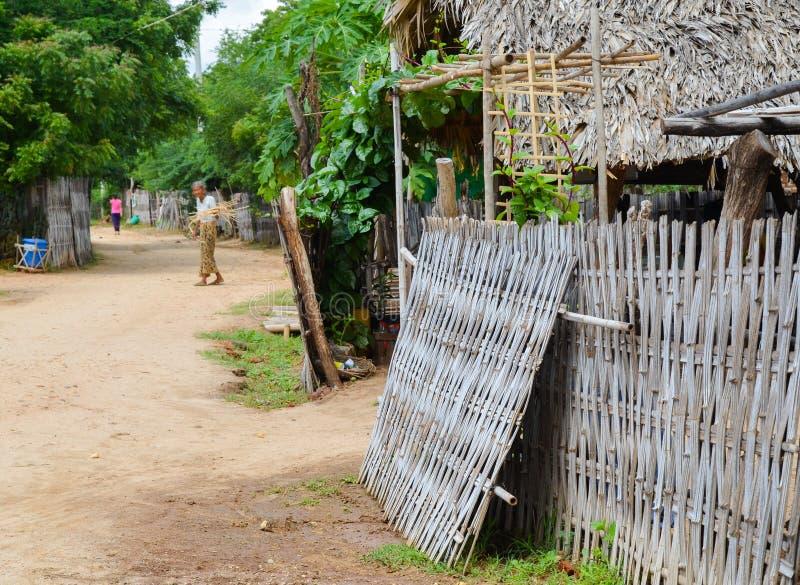 Bagan countryside, Myanmar royalty free stock photos