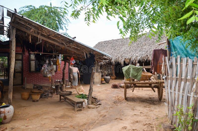 Bagan countryside, Myanmar stock photo