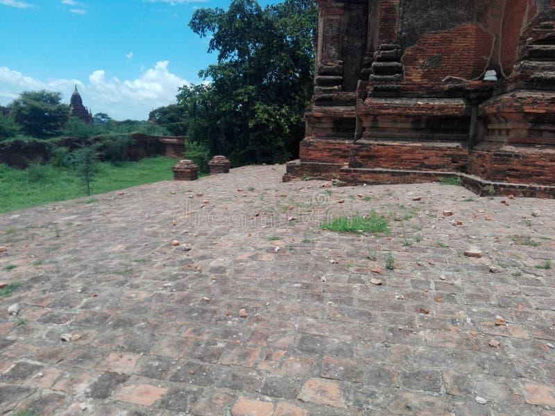 Bagan Earthquake 2016 fotos de stock royalty free
