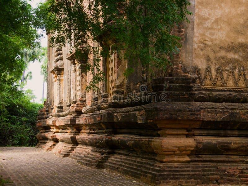 Bagan, een oude stad stock foto's