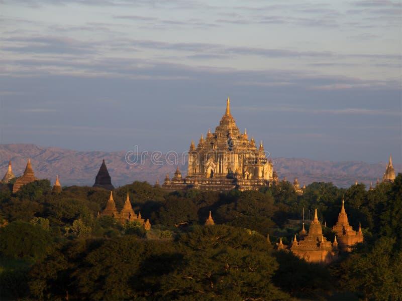 Bagan, een oude stad royalty-vrije stock afbeelding