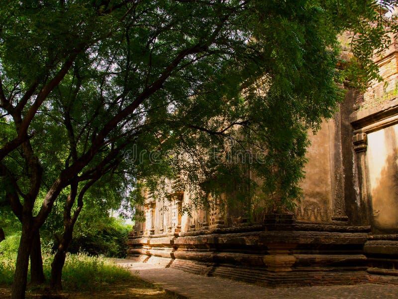 Bagan, een oude stad stock afbeeldingen