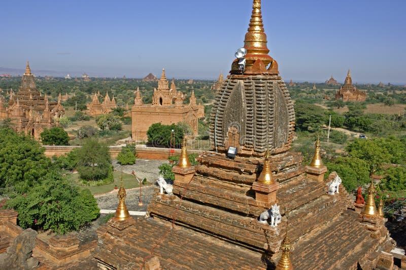 Bagan em Myanmar imagens de stock royalty free