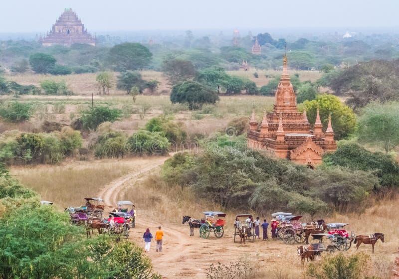 Bagan konia powozik zdjęcie stock