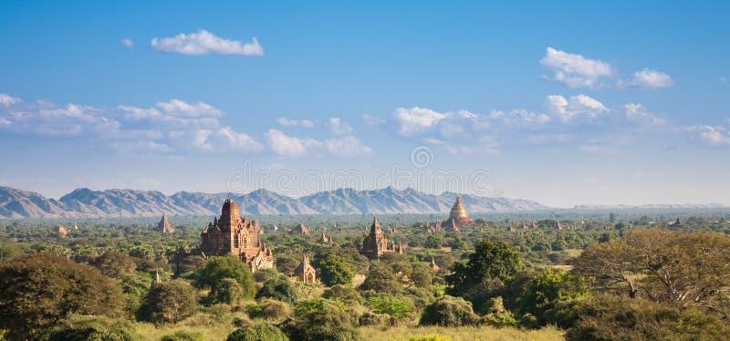 Bagan krajobraz, Birma zdjęcia stock