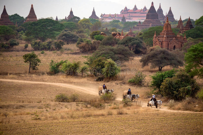 Bagan, Mandalay Myanmar photo libre de droits